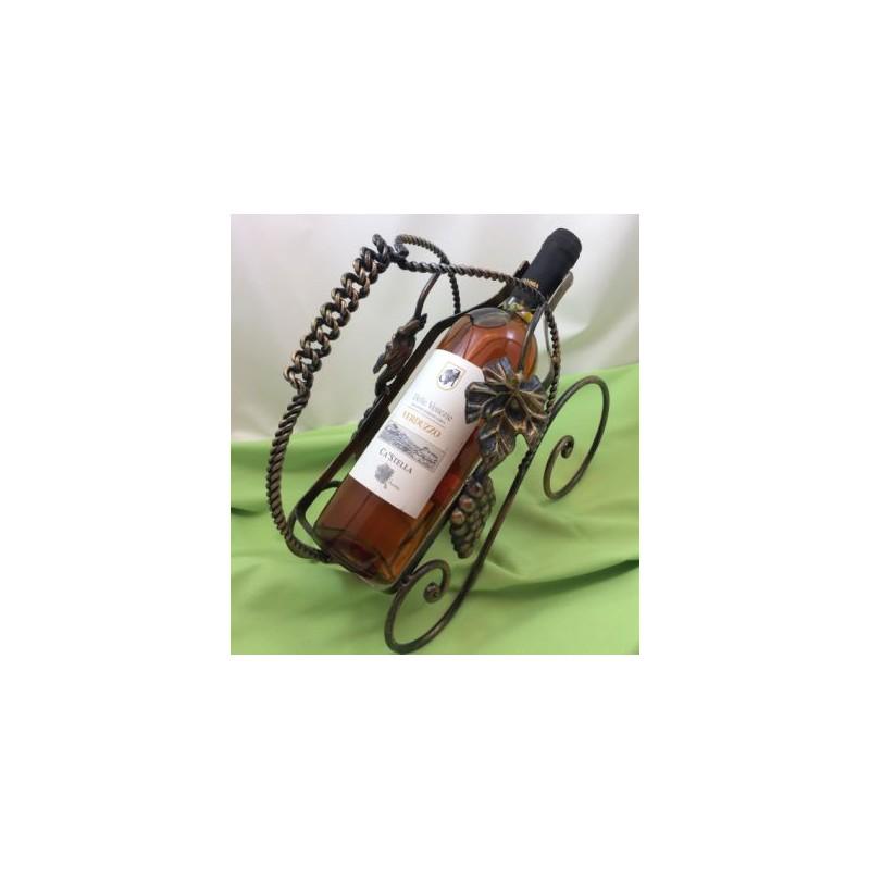 Weinflaschenhalter aus Metall für...