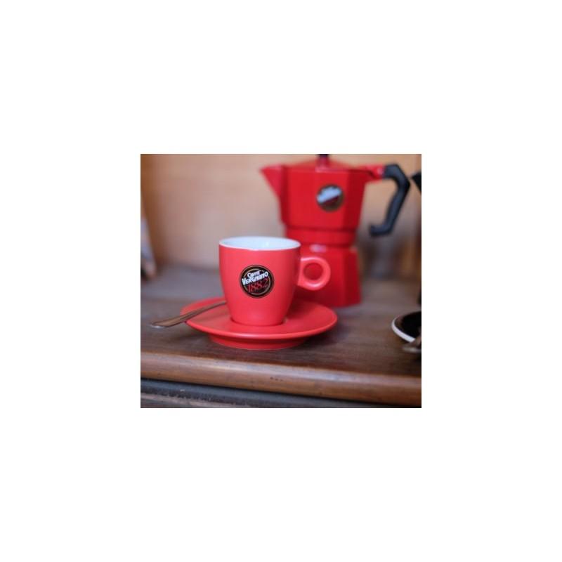 Espressotasee mit Espressokanne