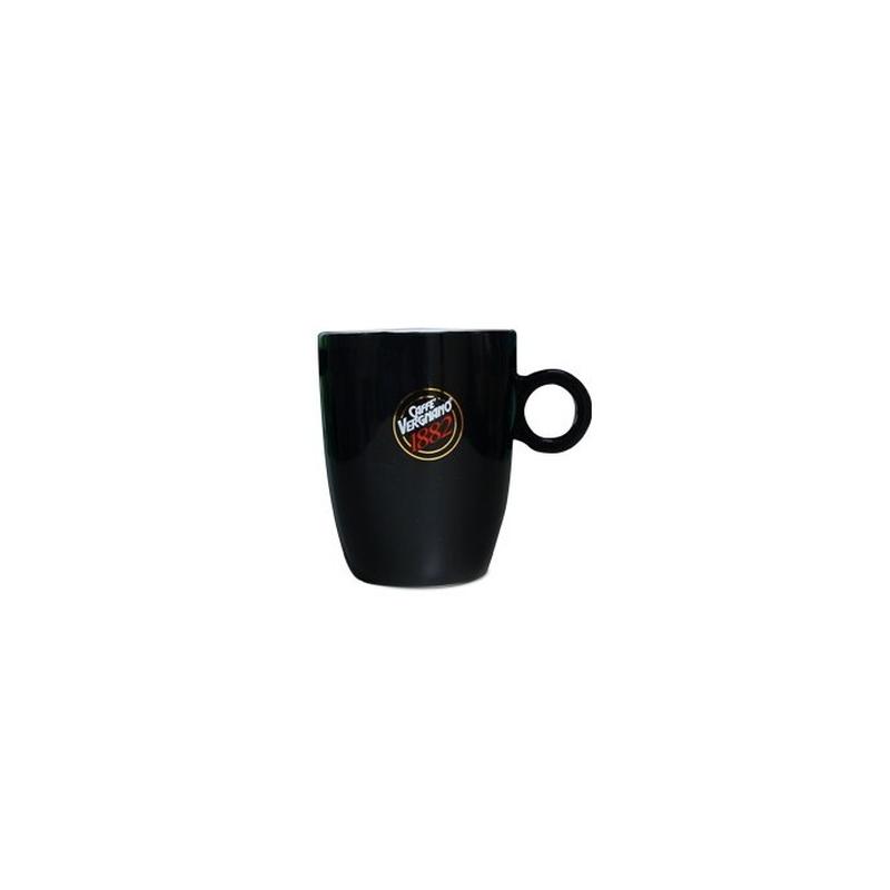 Caffe Vergnano Becher schwarz -weiß