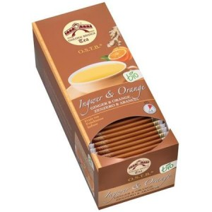 Ingwer - Orange Tee  BIO - Golden Bridge Tea