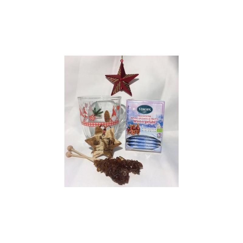 copy of Teeglas mit Weihnachtsmotiv