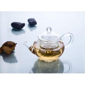 Glas Teekanne mit Teesieb 680 ml