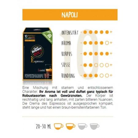 È Napoli- kompostierbare Kaffeekapseln