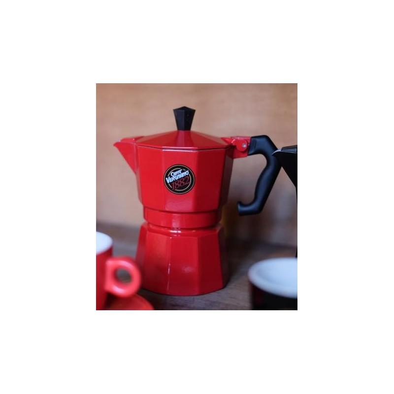 Die Mokkakanne von Caffe Vergnano