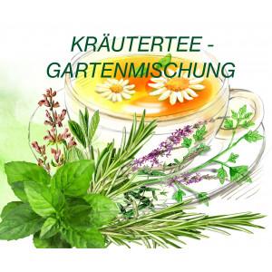 Kräutertee- Gartenmischung