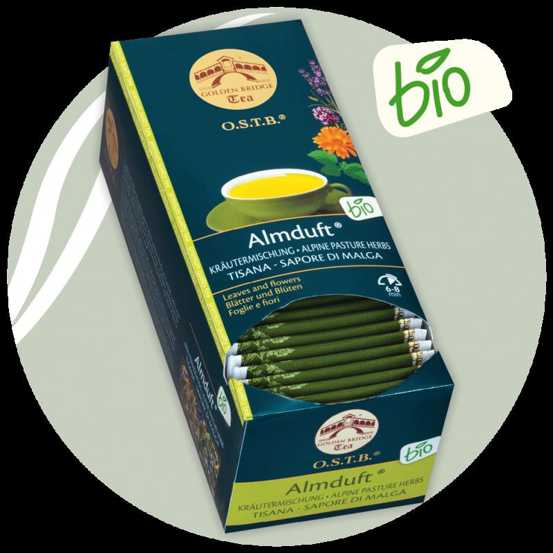 Almduft - Tee  BIO   glutenfrei-Golden Bridge Tea
