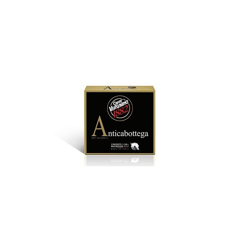 Caffé Vergnano Antica Bottega 100% Arabica -   2 x 250g gemahlen