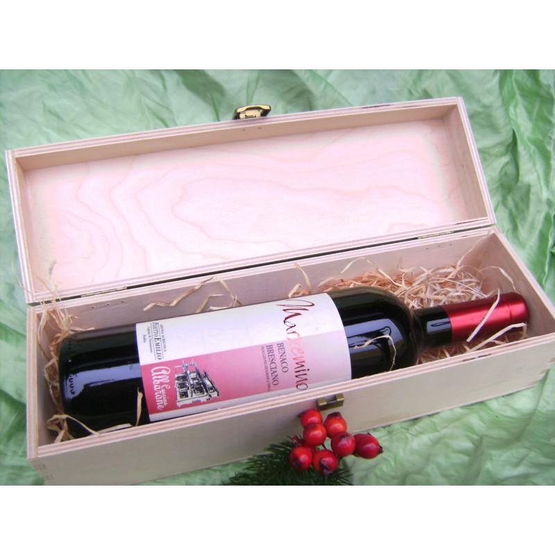 Holzkisten für Weinflaschen