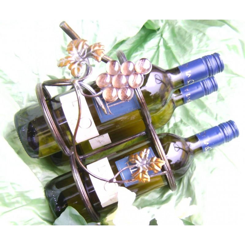 Metallständer für Weinflaschen