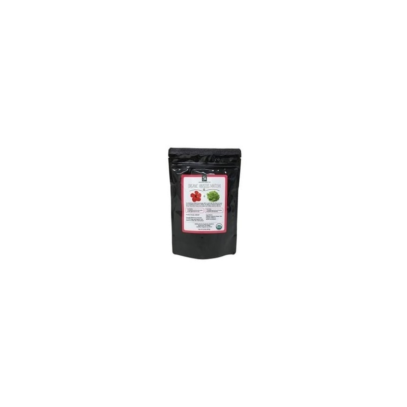Bio Matcha Tee mit Hibiskus