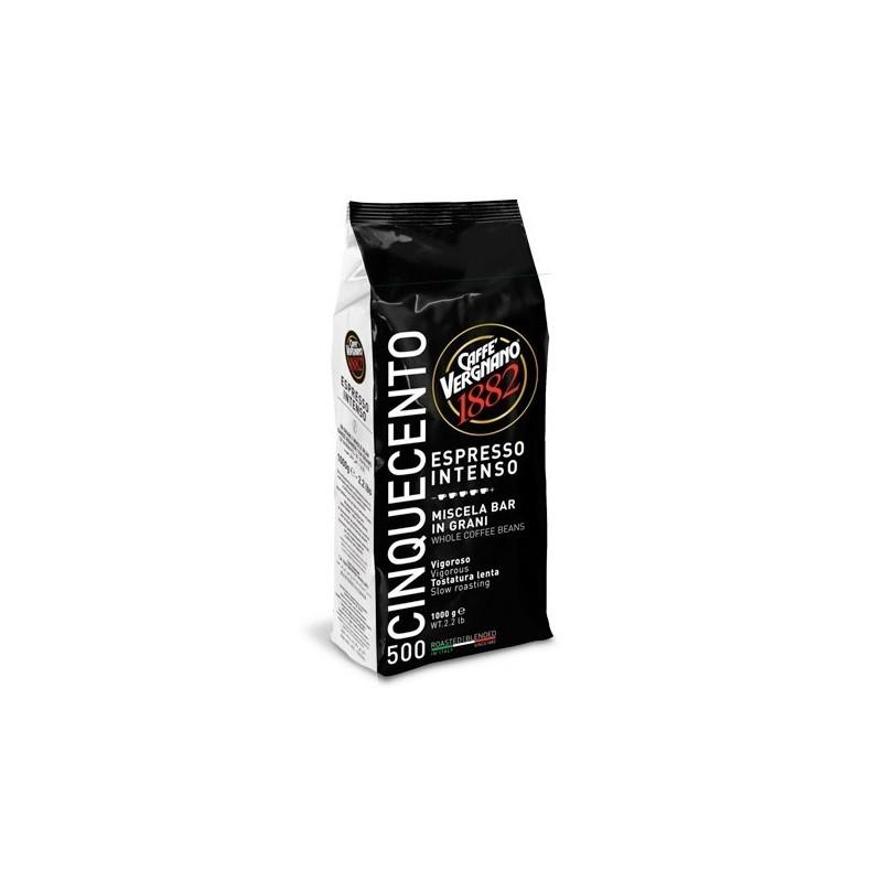 Caffé Vergnano Espresso -Intenso 500 ganze Bohnen