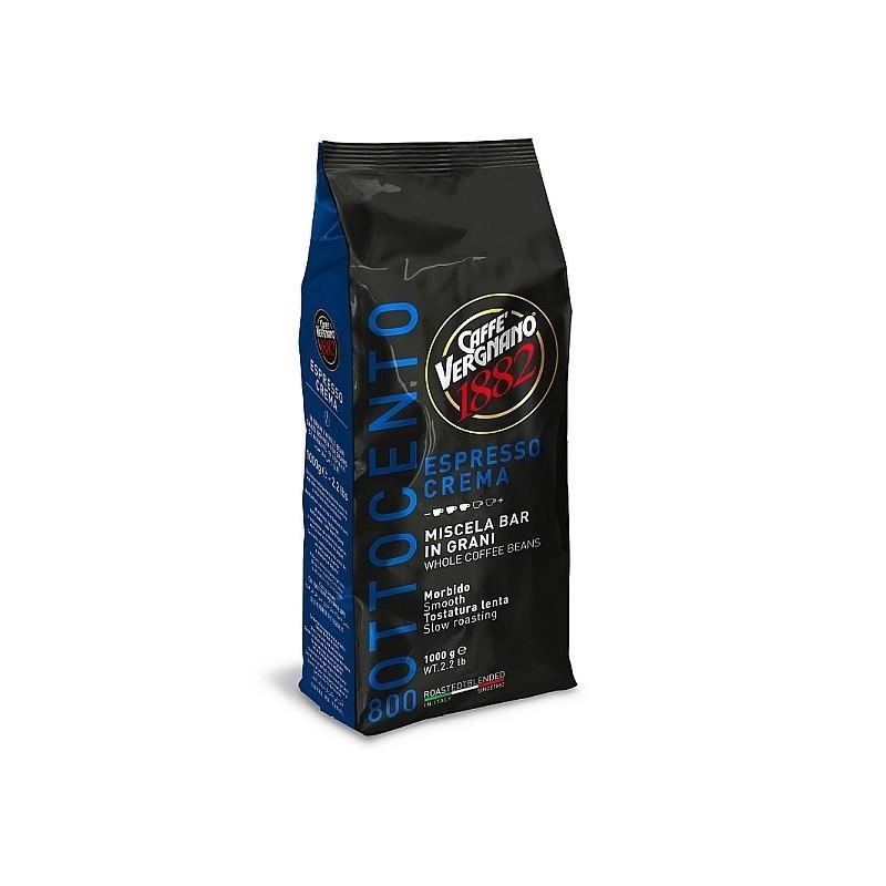 Caffé Vergnano Espresso -Crema 800 ganze Bohnen