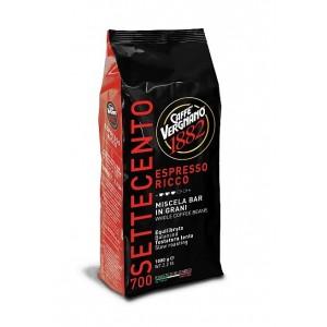 Caffe Vergnano Espresso- Ricco 700 ganze Bohnen