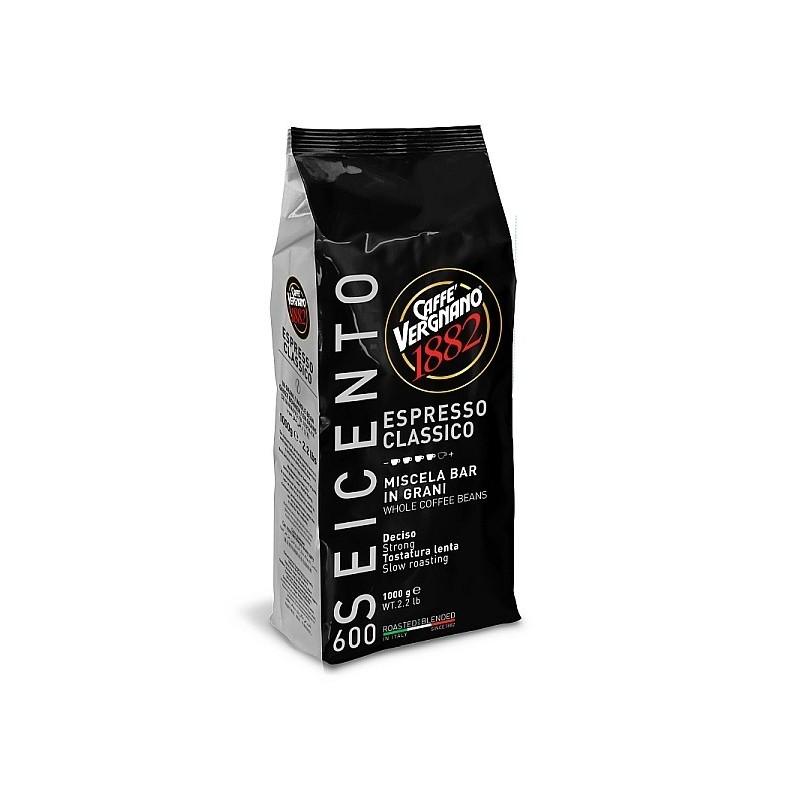 Caffé Vergnano Espresso- Classico 600 ganze Bohnen