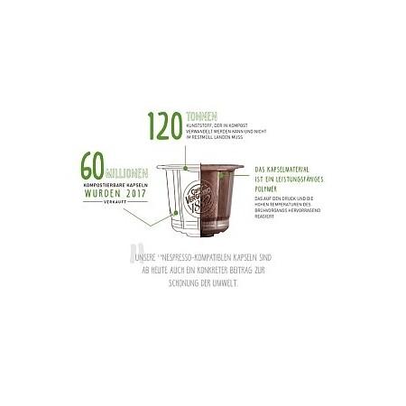 È Cremoso - kompostierbare Kapseln