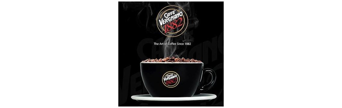 Caffe Vergnano 1882 - bester italienischer Kaffee mit Tradition