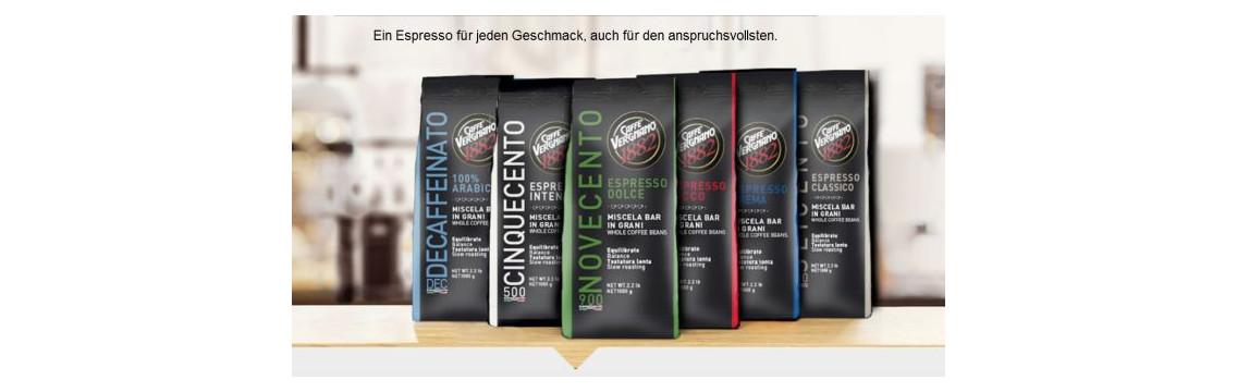 Caffé Vergnano Kaffee ganze Bohnen