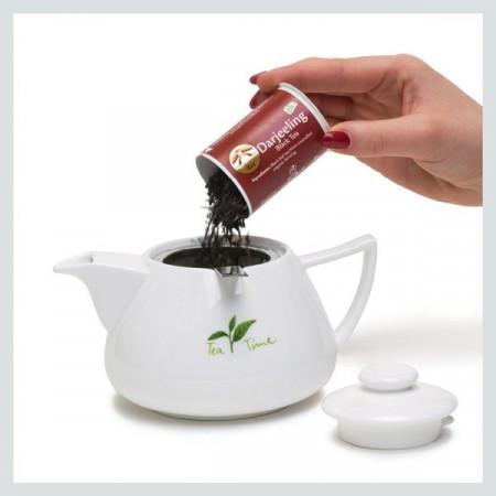 Loser Tee perfekt serviert - Golden Bridge Tea® T.P.S.  Teapot serving