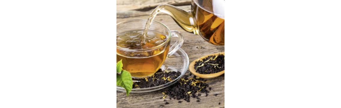 Der Tee wird in den Ursprungsländern angebaut, in Südtirol verarbeitet