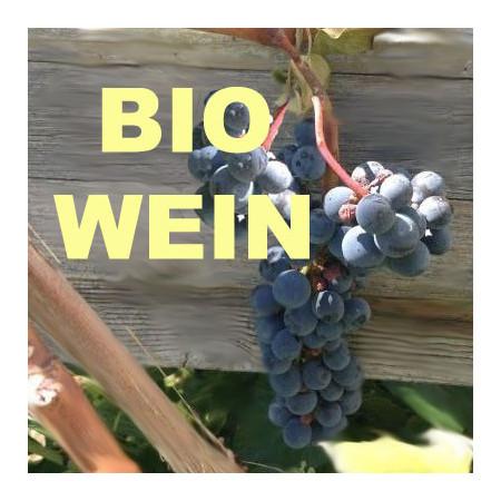 Wein aus biologischen Anbau, Italien